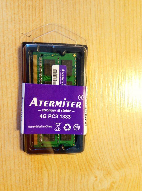 darbine atmintis ddr3 4gb 1333mhz nesiojamas kompiuteris